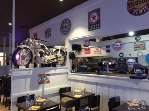 Intérieur restaurant il gusto
